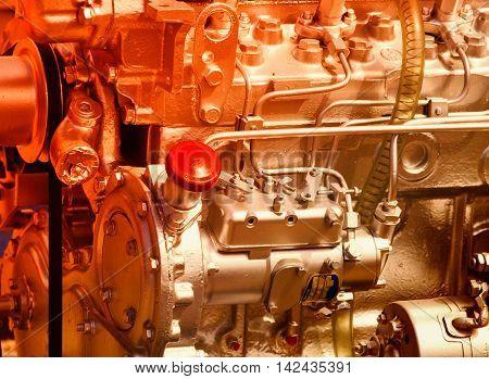 Screw On The Engine