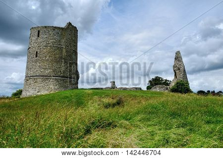 Remains of the 13th Century Hadleigh Castle