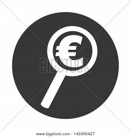 search money euro isolated icon vector illustration design
