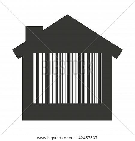 house home silhouette isolated icon vector illustration design