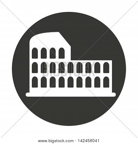 coliseum roman isolated icon vector illustration design