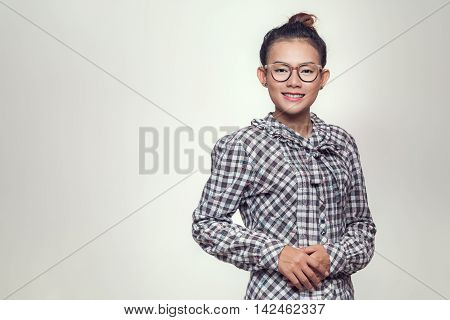Picture of Asian women are smiling and happy.