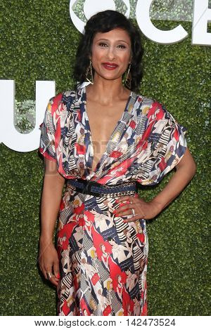 LOS ANGELES - AUG 10:  Sarayu Blue at the CBS, CW, Showtime Summer 2016 TCA Party at the Pacific Design Center on August 10, 2016 in West Hollywood, CA