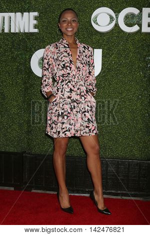 LOS ANGELES - AUG 10:  Nischelle Turner at the CBS, CW, Showtime Summer 2016 TCA Party at the Pacific Design Center on August 10, 2016 in West Hollywood, CA