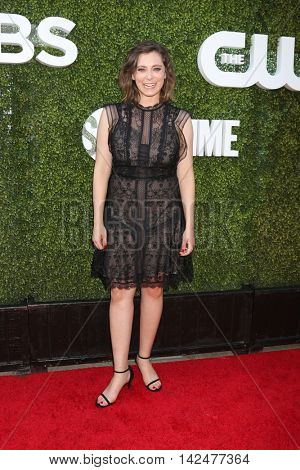 LOS ANGELES - AUG 10:  Rachel Bloom at the CBS, CW, Showtime Summer 2016 TCA Party at the Pacific Design Center on August 10, 2016 in West Hollywood, CA