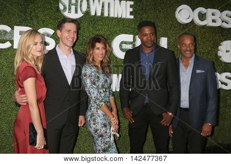 LOS ANGELES - AUG 10:  NCIS cast members at the CBS, CW, Showtime Summer 2016 TCA Party at the Pacific Design Center on August 10, 2016 in West Hollywood, CA
