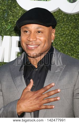LOS ANGELES - AUG 10:  LL Cool J at the CBS, CW, Showtime Summer 2016 TCA Party at the Pacific Design Center on August 10, 2016 in West Hollywood, CA