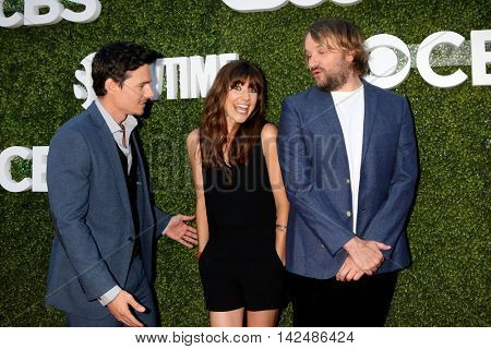 LOS ANGELES - AUG 10:  Daniel Bonjour, Devin Kelley, Lenny Jacobson at the CBS, CW, Showtime Summer 2016 TCA Party at the Pacific Design Center on August 10, 2016 in West Hollywood, CA
