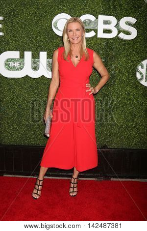 LOS ANGELES - AUG 10:  Katherine Kelly Lang at the CBS, CW, Showtime Summer 2016 TCA Party at the Pacific Design Center on August 10, 2016 in West Hollywood, CA