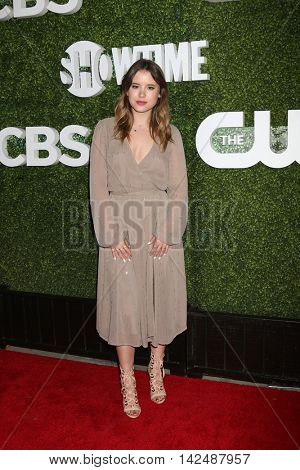 LOS ANGELES - AUG 10:  Taylor Spreitler at the CBS, CW, Showtime Summer 2016 TCA Party at the Pacific Design Center on August 10, 2016 in West Hollywood, CA