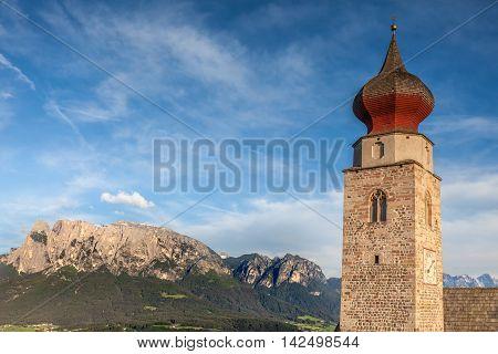 St. Nicholas Church In Mittelberg