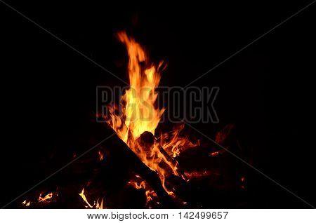 Burning Fire burnt, fiery, video, texture wild campsite power home