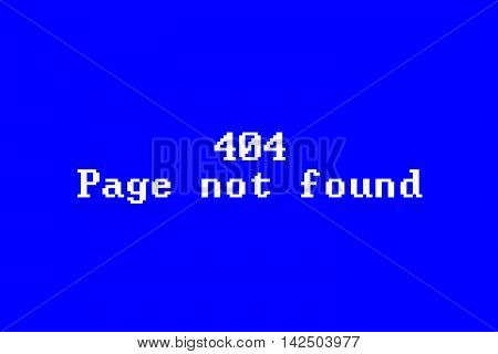 Page not found 404 error HTTP standard response code in computer network communications