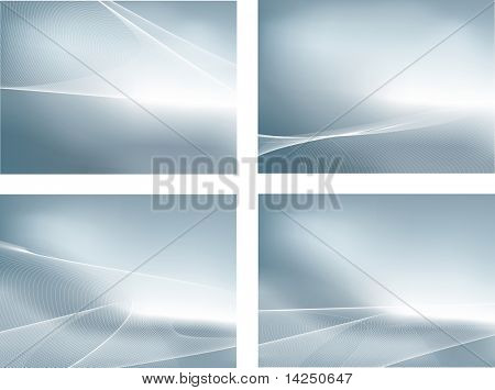 silver abstracts.