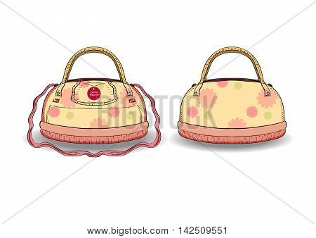 Bag for women. Bag convenience for mom