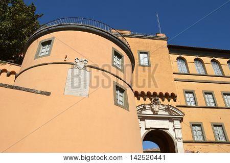 The Apostolic Palace of Castel Gandolfo seat of the Pope's holidays - Lazio