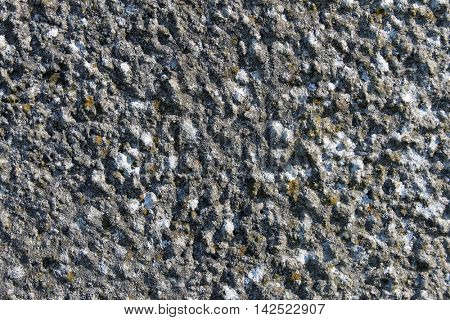 Abstract background of textured stone.