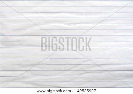 Lined white paper texture as a background