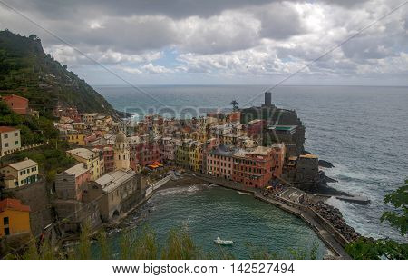 Sea View Of Romantic Vernazza