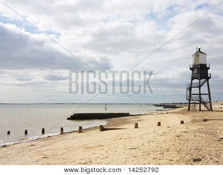 upper lighthouse in dovercourt near harwich in essex, uk