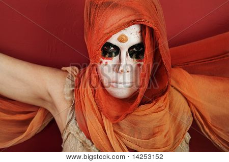 Woman In Facepaint