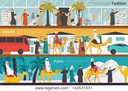 Fashion Desert Palm flat office interior outdoor concept web. Career Chart Fun