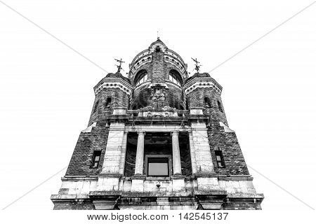 Gardos Tower or Millennium Tower also known as Kula Sibinjanin Janka. Zemun. Belgrade Serbia.