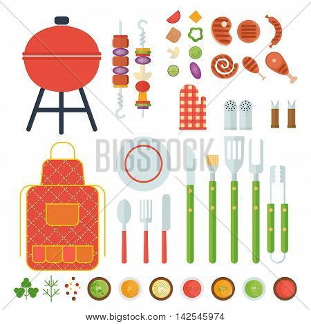 Bbq Set Of Tools