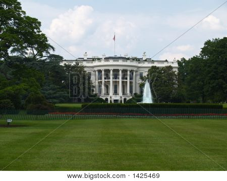 The Whitehouse In Washington Dc