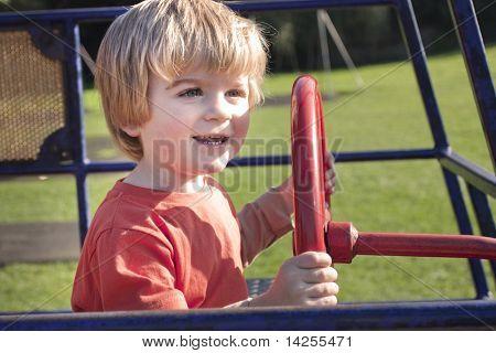 Shot in summer in a childrens playground in bury st edmunds, suffolk, uk
