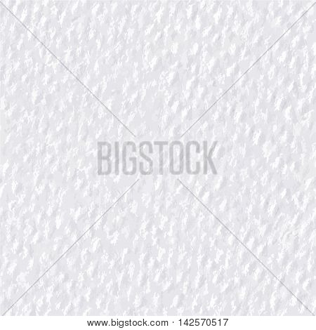 Seamless pattern of white gray watercolor paper texture. Realistic high quality embossed watercolor paper. Textured background. Vector illustration.