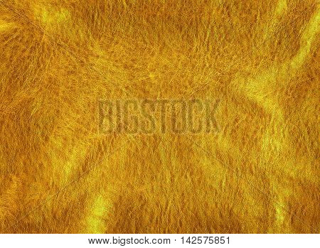 close- up shot of gold leather texture background