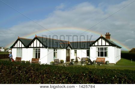 Clubhouse And Rainbow