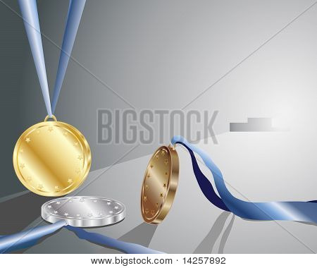 Gold Silver And Bronze