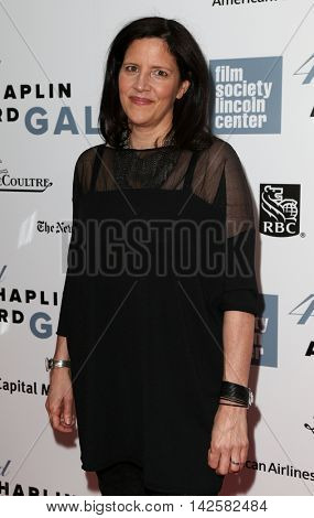 NEW YORK-APR 27: Director/producer Laura Poitras attends the 42nd Chaplin Award Gala at Alice Tully Hall, Lincoln Center on April 27, 2015 in New York City.