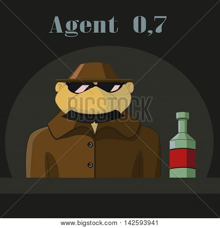 Parody  Of Agent 007