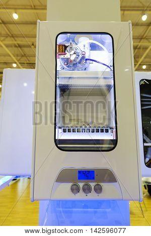Wall-mounted gas boiler