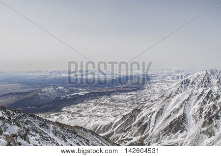 The Endless Expanses Of The Siberian Mountains