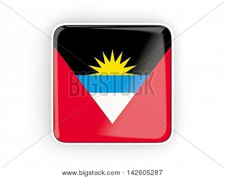 Flag Of Antigua And Barbuda, Square Icon