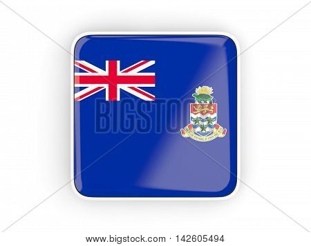 Flag Of Cayman Islands, Square Icon