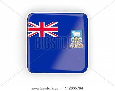 Flag Of Falkland Islands, Square Icon