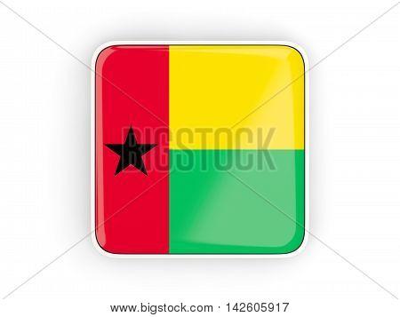 Flag Of Guinea Bissau, Square Icon