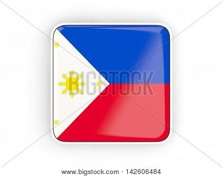 Flag Of Philippines, Square Icon