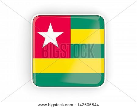 Flag Of Togo, Square Icon