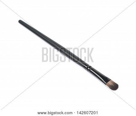 Blending makeup brush isolated over the white background