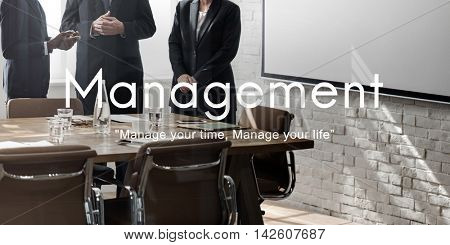 Management Organization Business Strategy Process Concept