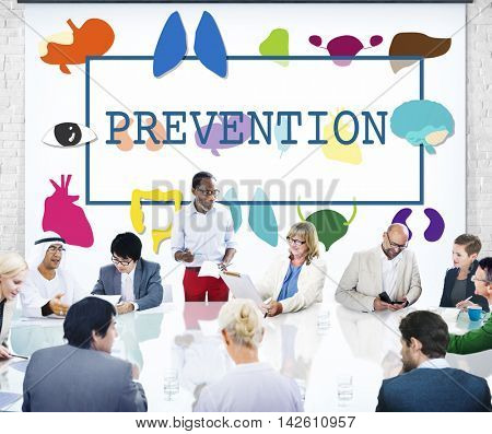 Healthcare Treatment Prevention Medical  Checkup Concept