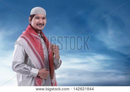 Young Muslim Asian Man