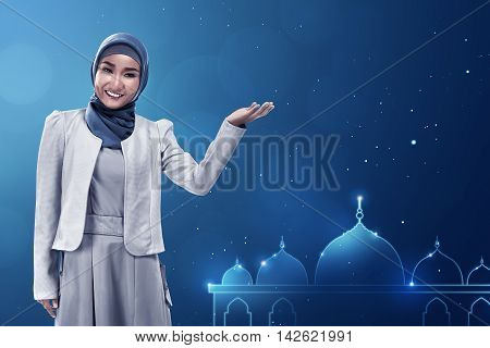 Young Asian Muslim Woman