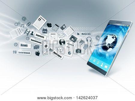 Internet Smart Phone